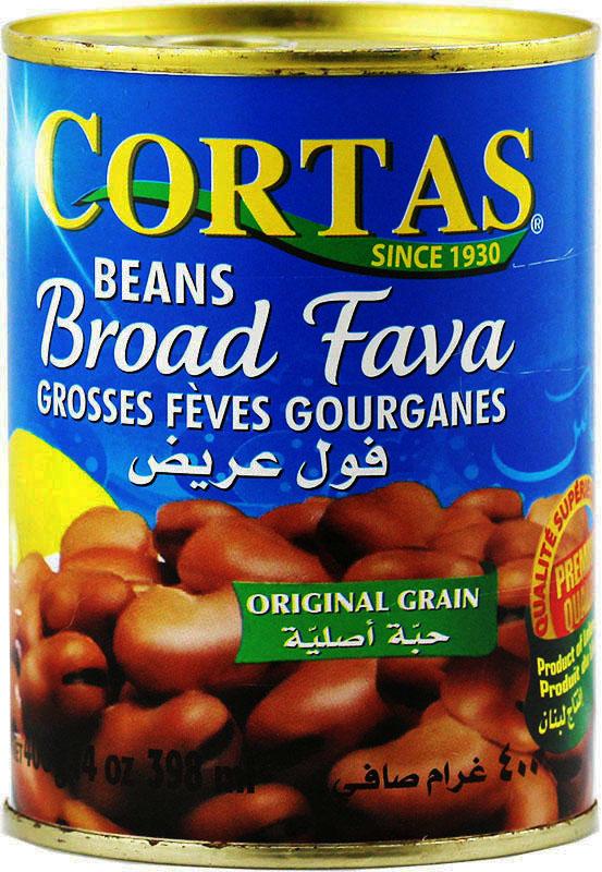 Broad fava Cortas