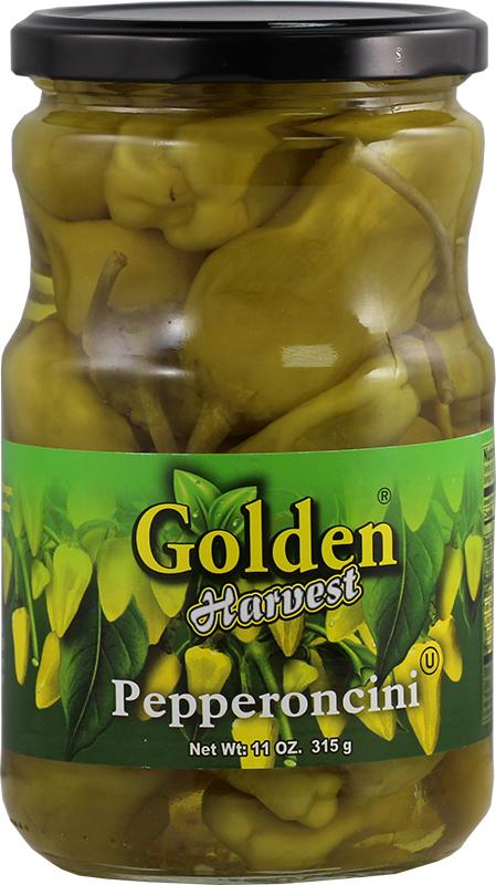 Golden pepperoncini