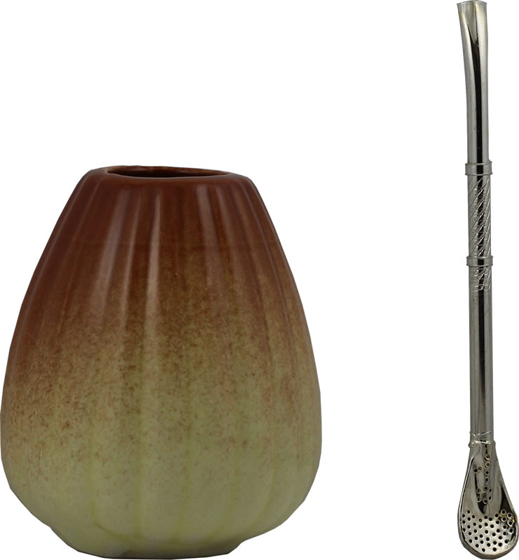 Matty bowl ceramic | straw