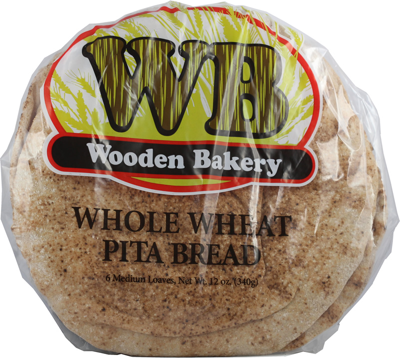 Medium whole wheat pita