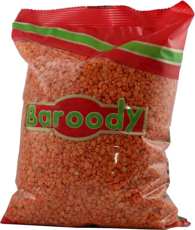 Red lentils split balady