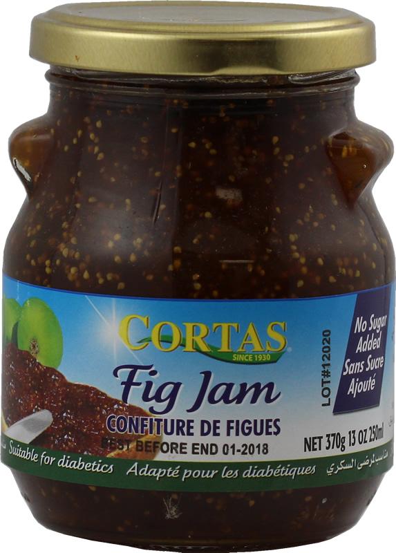 Sugar free fig jam