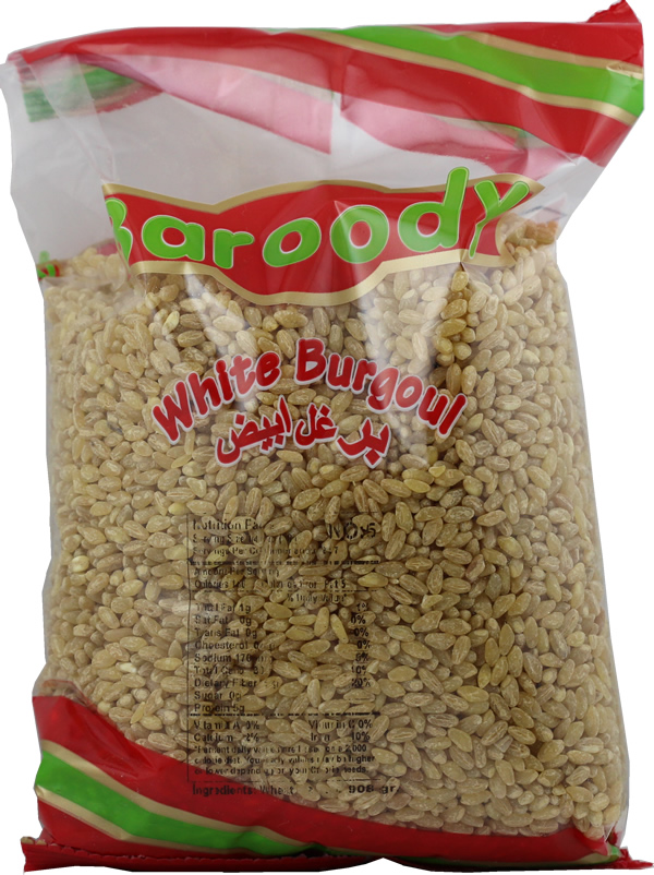 Whole wheat burgoul