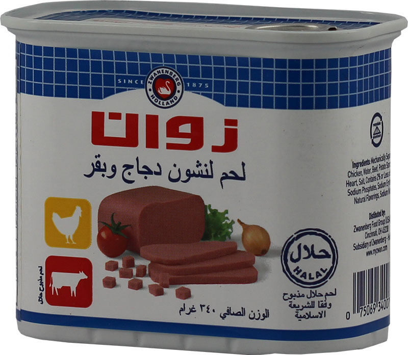 Zwan Chicken Beef Luncheon Meat Halal