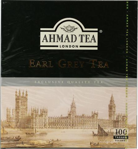 Ahmad earl grey tea bags