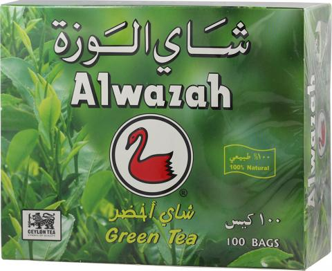 Alwazah green tea