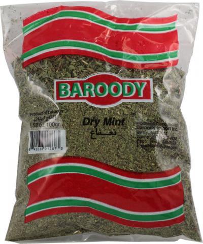 Baroody dry mint