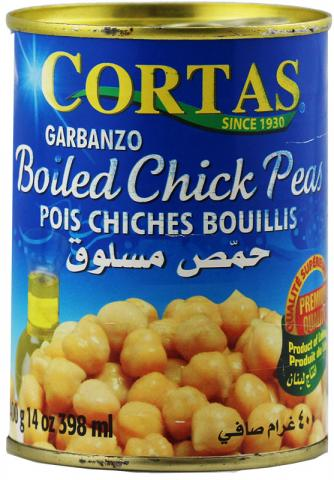 Chickpeas boiled