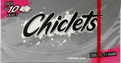 Chiclets gum misky