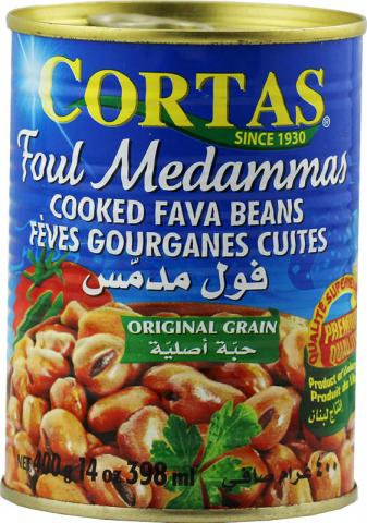 Foul medammas plain Cortas