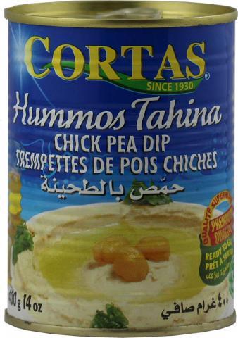 Hummus tahini cortas