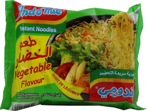 Indomie vegetable soup