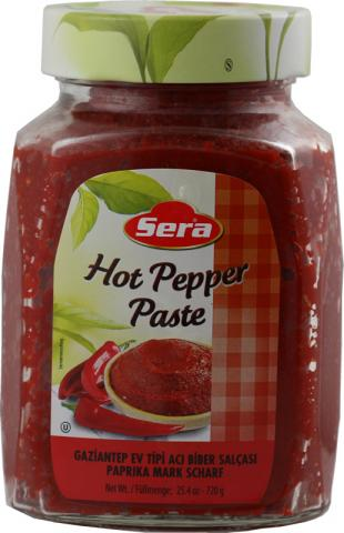 Pepper paste hot