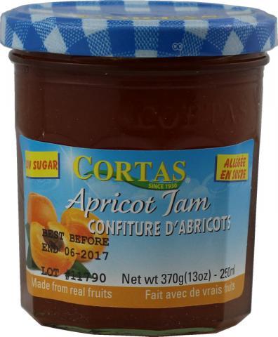 Sugar free apricot jam