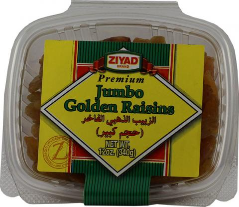 Ziyad Jumbo Golden Raisins