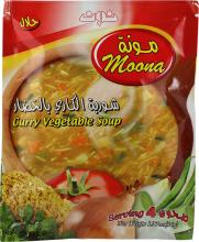 Moona curry vegetable soup